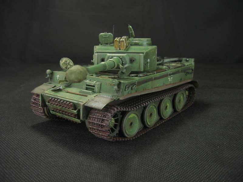 Tiger I/H1 África Corps-construido 1/35