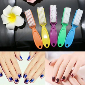 Image Is Loading 1pc Pro Nail Scrub Brushes Cleaning Washing