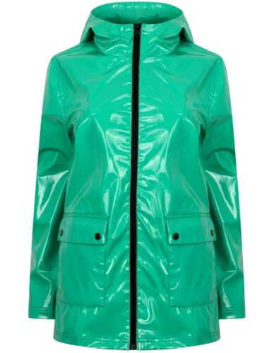 Plastic Nylon Vinyl Shiny Pvc Glanz Wet Look Jacket Coat wXvBaYqSnq