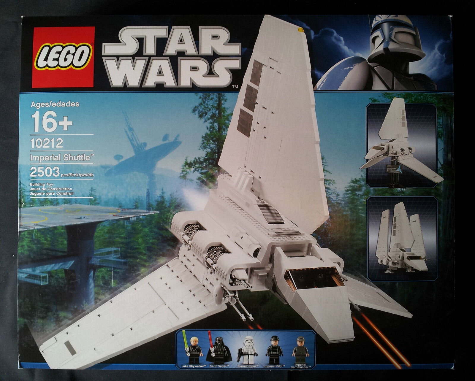 Lego star wars 10212-imperial  shuttle (ucs) nouveau sealed nouveau sealed  plus d'ordre