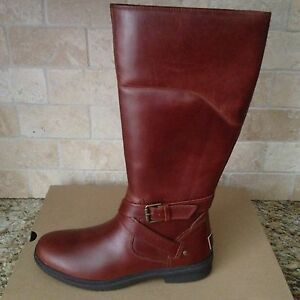 1e3ee6e4f00 Details about UGG EVANNA STOUT TALL WATERPROOF LEATHER RAIN SNOW BOOTS SIZE  US 8.5 WOMENS