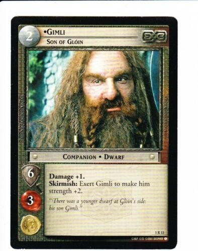 LORD OF THE RINGS CCG FotR  GIMLI SON OF GLOIN