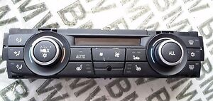Bmw X1 M3 335 330 325 323 135 128 Automatic A C Heater Control Panel