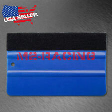 "5"" Felt Edge Vinyl Wrap Application Squeegee Tool Decal - U.S. FREE SHIPPING"