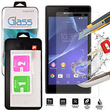 Genuine Tempered Glass Shockproof Screen Protector For Sony Xperia M5