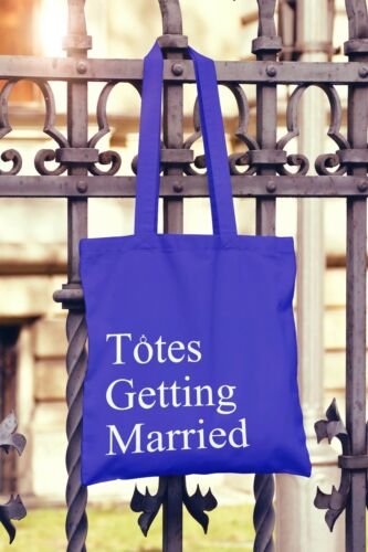 Totes Getting Married Canvas Tote Bag Shopper Wedding Gift Hen Night Party