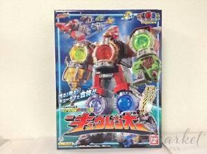 Bandai Power Rangers Uchu Sentai Kyuranger Qranger Megazord Kyurenoh Japon F / s