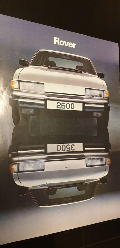 Brochure, Rover 2600 / Rover 3500
