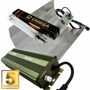 600w-Grow-Light-Kit-OMEGA-PRO-Dimmable-Digital-Ballast-HPS-Dual-Spectrum-Bulb