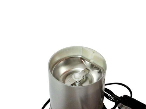 Haricots 150 W lames en acier inoxydable noix Kabalo électrique Moulin à Café