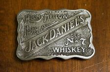 Authentic Jack Daniels Old No 7 Whiskey Belt Buckle