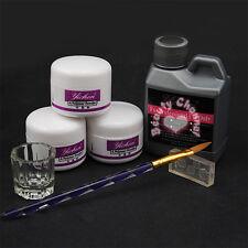 Pro Simply Nail Art Kits Acrylic Liquid Powder Pen Dappen dish Tools Set Kit