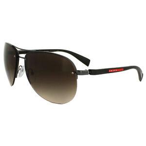 36de6120a0c6 Image is loading Prada-Sport-Sunglasses-56MS-5AV6S1-Brown-Brown-Gradient-