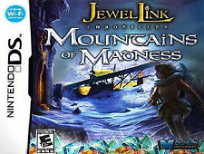 Jewel Link Chronicles: Mountains of Madness (Nintendo DS, 2012)