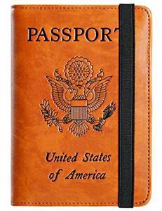 Passport-Holder-Cover-Wallet-RFID-Leather-Card-Case-Travel-Document-Organizer