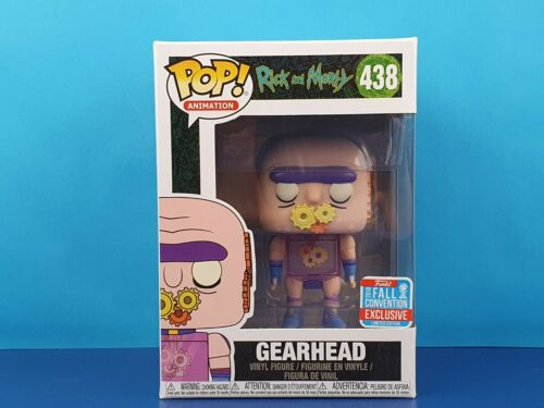 Gearhead Funko Pop Vinyl Rick and Morty NYCC Fall Convention Exclusive 2018