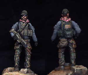 Figure 75mm resin Kit US SPECIAL FORCE