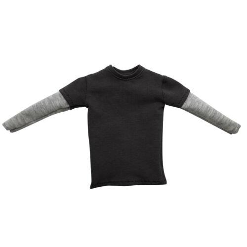 """1//6 Manica Lunga T-shirt girocollo vestiti accessorio per 12/"""" Maschi Action Figure"""