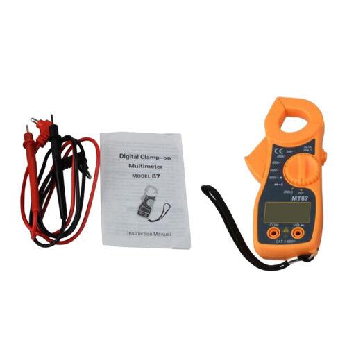 Digital Clamp Multimeter LCD Display AC//DC Voltage Ammeter Resistance Tester