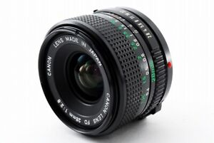 034-Near-Mint-034-Canon-New-FD-28mm-f-2-8-NFD-Lens-From-Japan-100