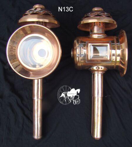 Calèche Lampes Styles N12 N13 Nouveau N13C édition limitée Cuivre Feuille
