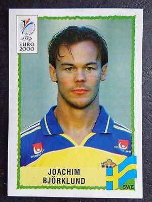 ☆ Panini Euro 2000-Suecia//Sverige Joachim Bjorklund #123