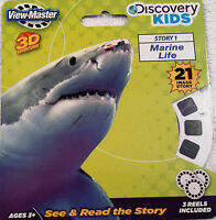 Marine Life View-master Viewmaster 3 Reel Set 21 Images Discovery Kids 2114
