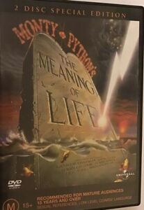Monty-Pythons-the-Meaning-of-Life-DVD-Region-4-VGC-Free-Priority-Post