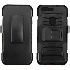 "3-Layer Holster Stand Cover Case GOOGLE Verizon Pixel Phone HTC Nexus S1 (5.0"")"