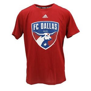 3567e76613f FC Dallas MLS Official Adidas Climalite Kids Youth Size Athletic ...