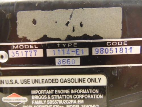 Details about  /Briggs /& Stratton 20HP Vanguard 351777 Engine Blower Housing 690914