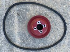 Used International Harvester Farmall 140 Tractor Ihc Belt Pulley With Belt