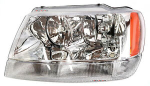 NEW HEAD LIGHT LAMP for JEEP GRAND CHEROKEE 1999-2005 LAREDO/LIMITED LEFT SIDE