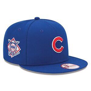 36a600d36e8 Chicago Cubs Blue New Era 9FIFTY NL Patch MLB Snapback Hat Cap M L ...