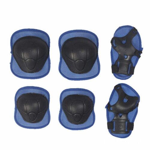 6//7Pcs Kids Safety Pad Helmet Knee Elbow Wrist Sport Skating Protective Gear Set