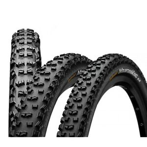 2x-GOMME-CONTINENTAL-MOUNTAIN-KING-PERFORMANCE-26-27-5-29-pollici-filo