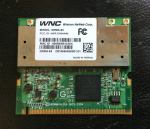 Atheros AR9160 Mini PCI 802.11n Wi-Fi  Card Wireless Ethernet a//b//g//n
