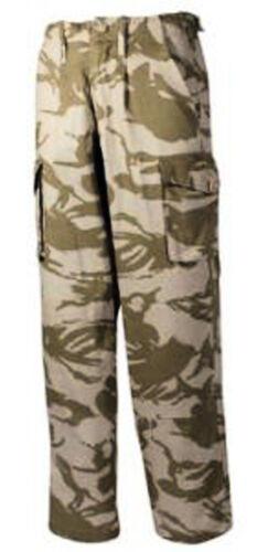 DPM SOLDATO 95 Deserto Mimetico Pantaloni Combat MIL COM Pantaloni con tasconi S95