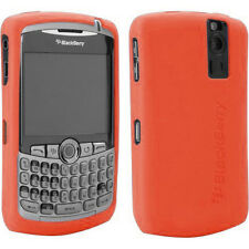 OEM Orange Gel Skin Silicon Cover Blackberry CURVE 8300/8320/8330 NEW Original