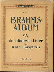 Brahms-Album-25-der-beliebtesten-Lieder-hoehere-Stimme