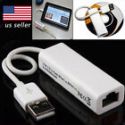 Micro USB 2.0 to Ethernet RJ45 Network Lan Adapter For Windows 10 8.1 8 Tablet B