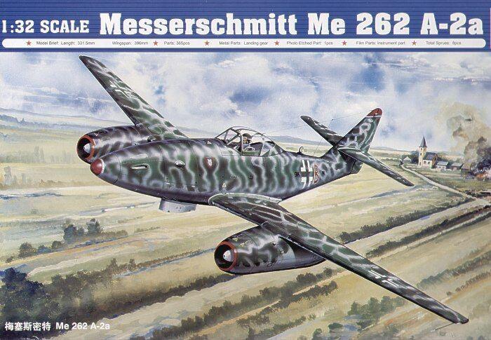 Trumpeter 1 32 Messerschmitt Me262A-2a