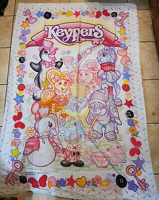 BúSqueda De Vuelos Vintage Rare 1987 Tonka Keypers Single Duvet Cover & Pillow Case