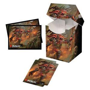 Ultra-Pro-Pro-100-Deck-Box-amp-100ct-Sleeves-Commander-Legends-Rograkh