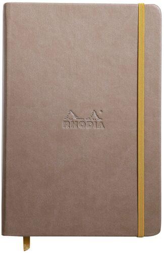 96 Blatt Rhodia 118644C Rhodiarama Notizbuch DIN A6 Liniert GRAU