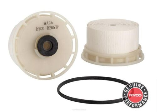 Ryco Fuel Filter FOR Toyota Land Cruiser 12-18 200 Series 4.5 D-4D DSL R2657P