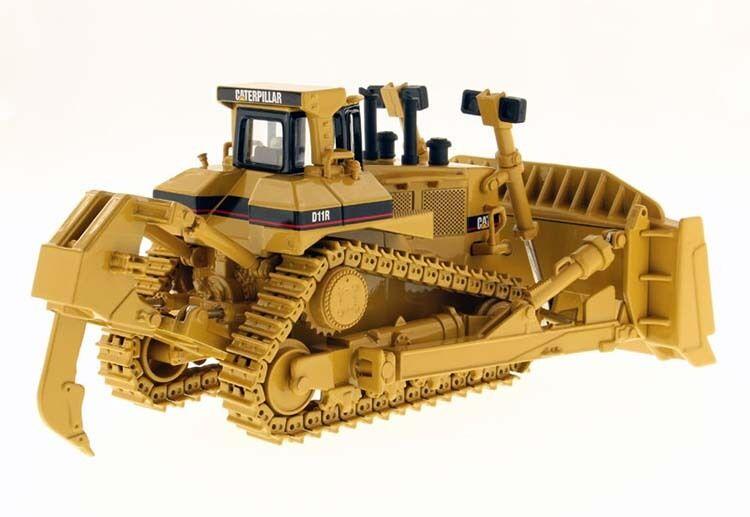 Dm - katze katze katze d11r crawler bulldozer 13.50 caterpillar 85025 druckguss fahrzeuge gelbe spielzeug 93446a