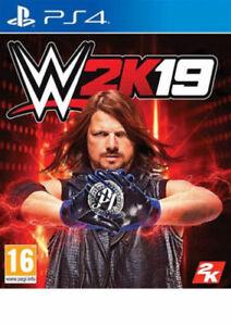 WWE-2K19-PS4-Nuovo-di-zecca-spedizione-lo-stesso-giorno-tramite-consegna-super-veloce