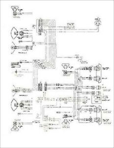 1976 chevelle and malibu monte carlo wiring diagram 76 ebayimage is loading 1976 chevelle and malibu monte carlo wiring diagram
