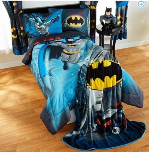 COMFORTER SET 3 PRINTS KIDS BOYS BATMAN BEDDING BED IN A BAG